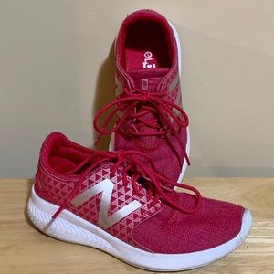 Girls New Balance running shoes.